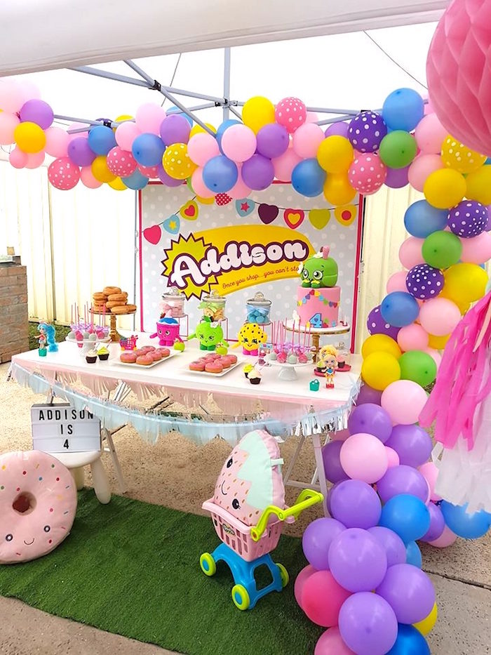 Shopkins Birthday Party via Kara's Party Ideas | KarasPartyIdeas.com (4)