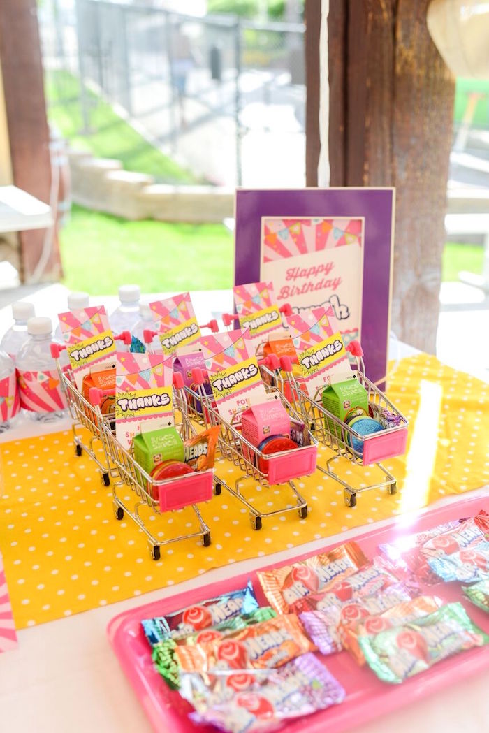 Kara S Party Ideas Vibrant Shopkins Birthday Party Kara