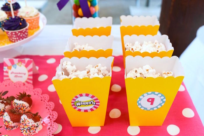 Popcorn from a Shopkins Birthday Party via Kara's Party Ideas   KarasPartyIdeas.com (11)