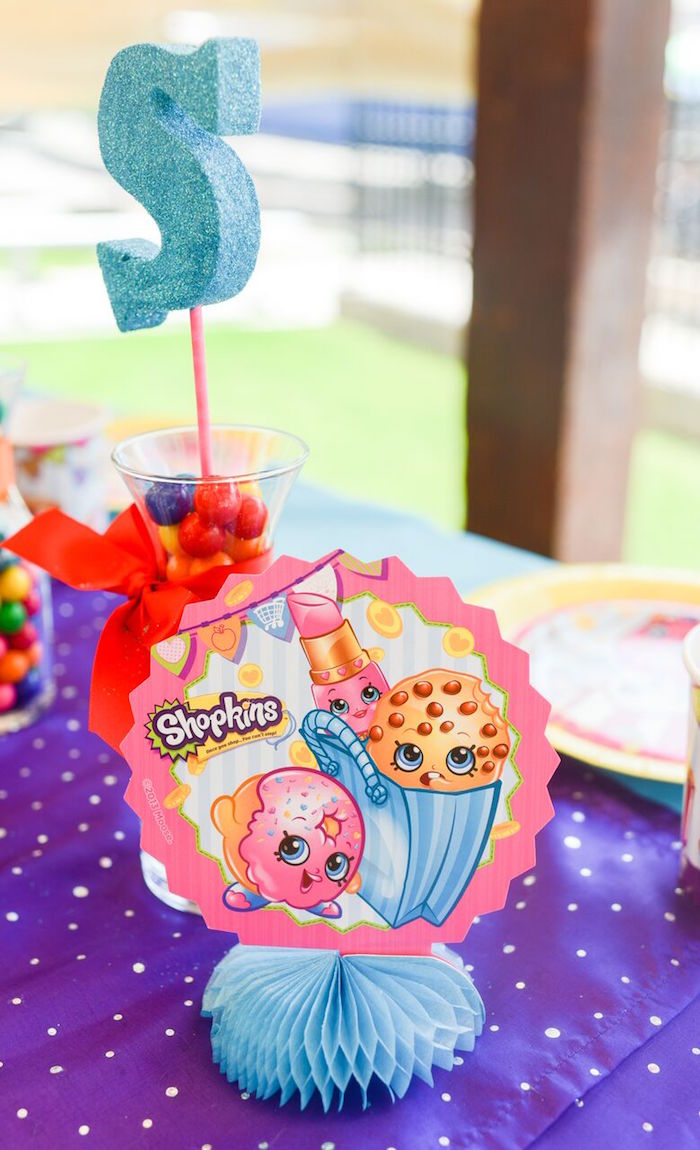 Kara S Party Ideas Vibrant Shopkins Birthday Party Kara