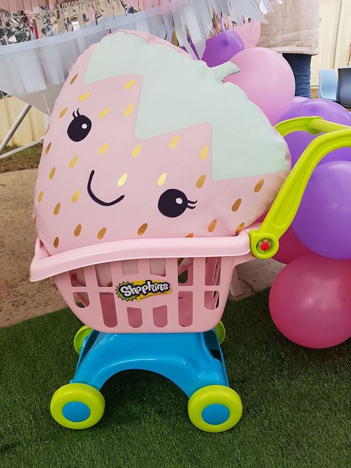 Party decor from a Shopkins Birthday Party via Kara's Party Ideas | KarasPartyIdeas.com (16)
