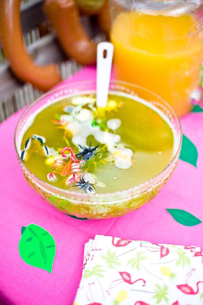 Tropical Rainforest Jungle Animal Birthday Party on Kara's Party Ideas   KarasPartyIdeas.com (45)