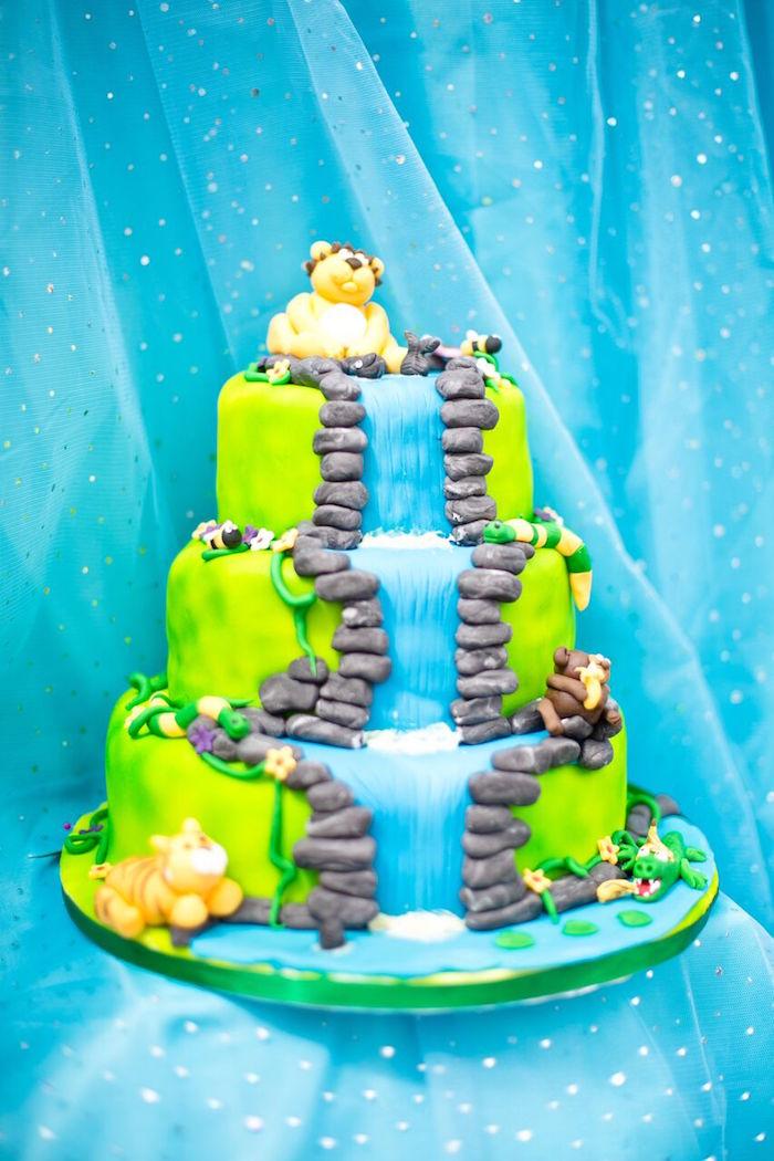 Tropical Rainforest Jungle Animal Birthday Party on Kara's Party Ideas   KarasPartyIdeas.com (43)