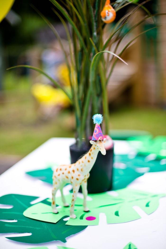 Tropical Rainforest Jungle Animal Birthday Party on Kara's Party Ideas   KarasPartyIdeas.com (36)