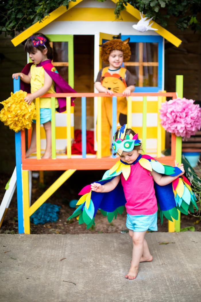 Tropical Rainforest Jungle Animal Birthday Party on Kara's Party Ideas   KarasPartyIdeas.com (54)