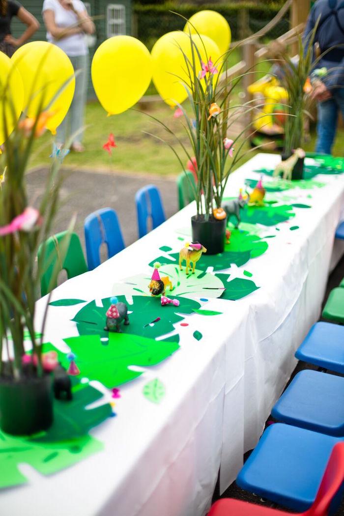 Jungle Cake Decorations