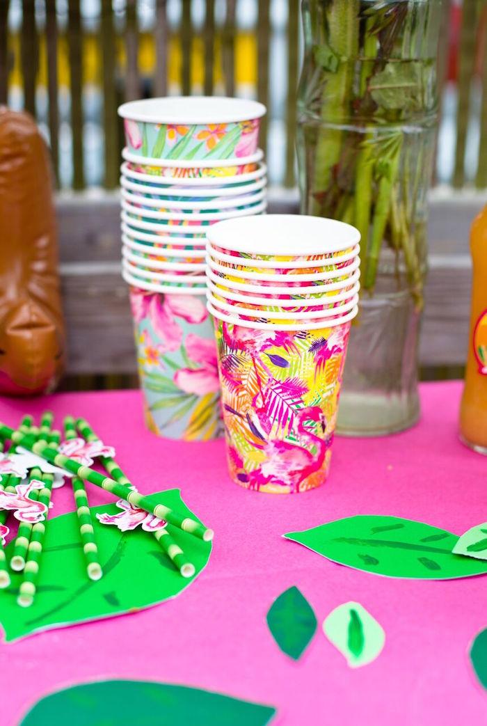 Tropical Rainforest Jungle Animal Birthday Party on Kara's Party Ideas   KarasPartyIdeas.com (30)