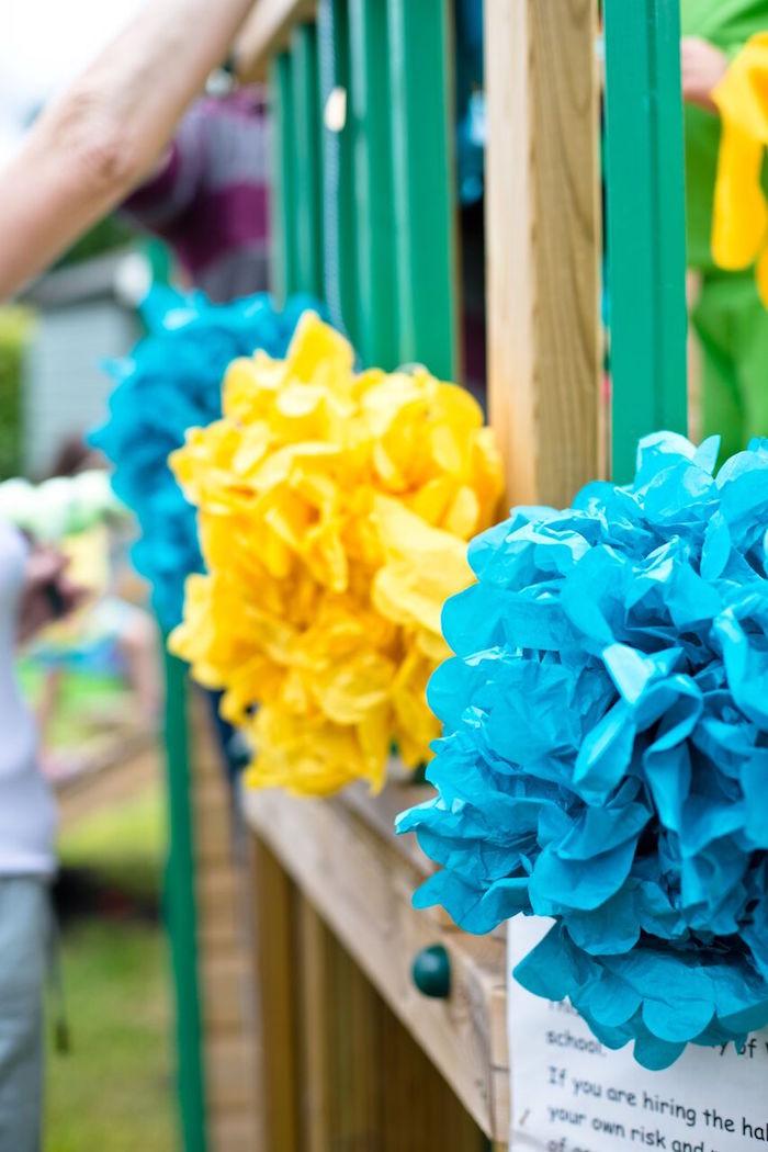 Tropical Rainforest Jungle Animal Birthday Party on Kara's Party Ideas   KarasPartyIdeas.com (27)