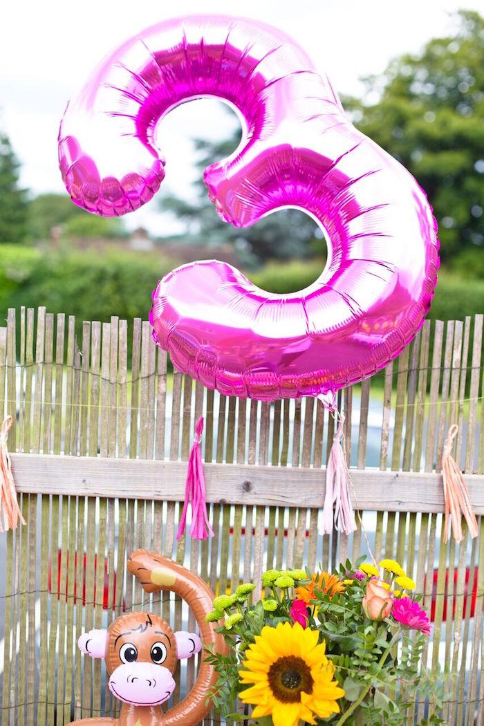 Tropical Rainforest Jungle Animal Birthday Party on Kara's Party Ideas   KarasPartyIdeas.com (26)