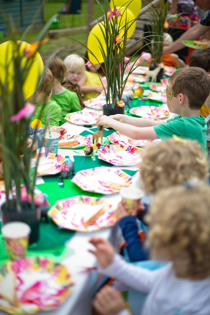 Kara S Party Ideas Tropical Rainforest Jungle Animal