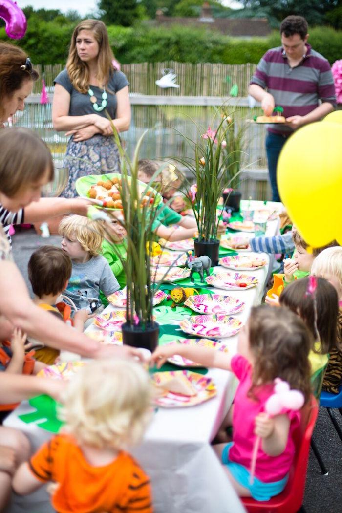 Tropical Rainforest Jungle Animal Birthday Party on Kara's Party Ideas   KarasPartyIdeas.com (21)