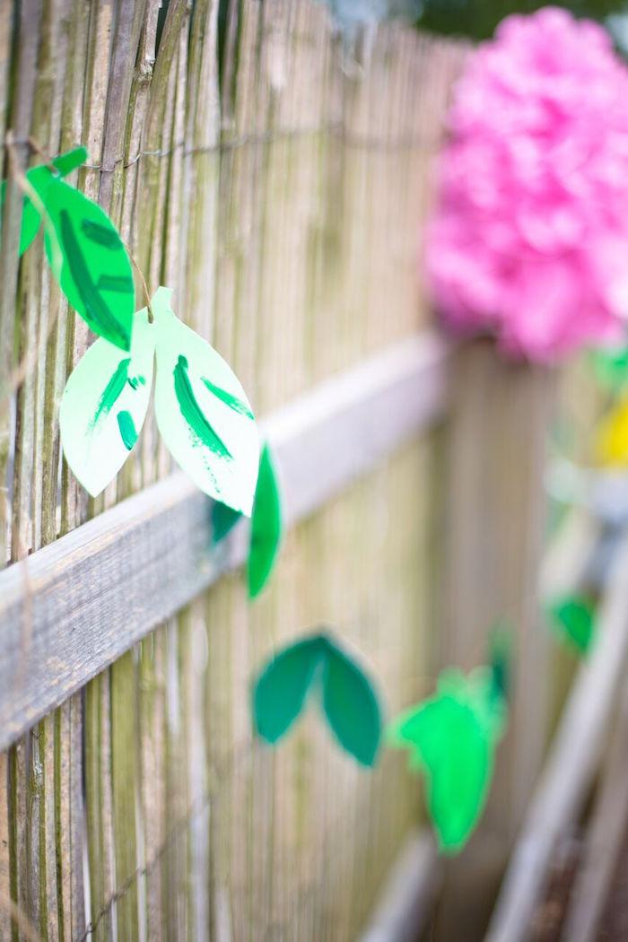 Tropical Rainforest Jungle Animal Birthday Party on Kara's Party Ideas   KarasPartyIdeas.com (17)