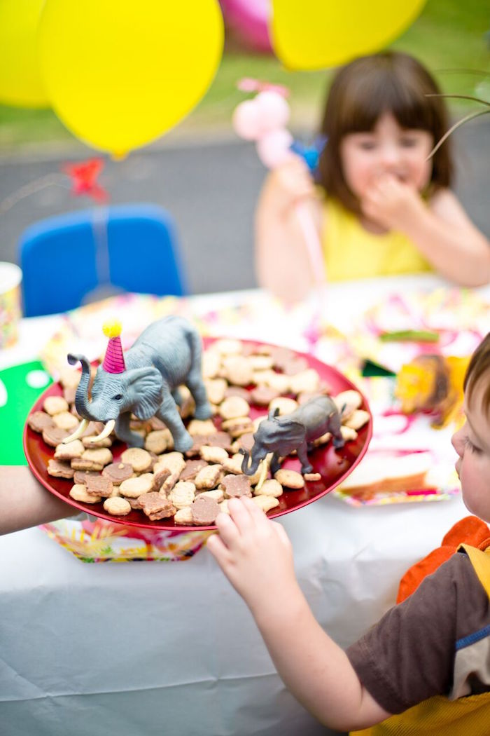 Tropical Rainforest Jungle Animal Birthday Party on Kara's Party Ideas   KarasPartyIdeas.com (15)