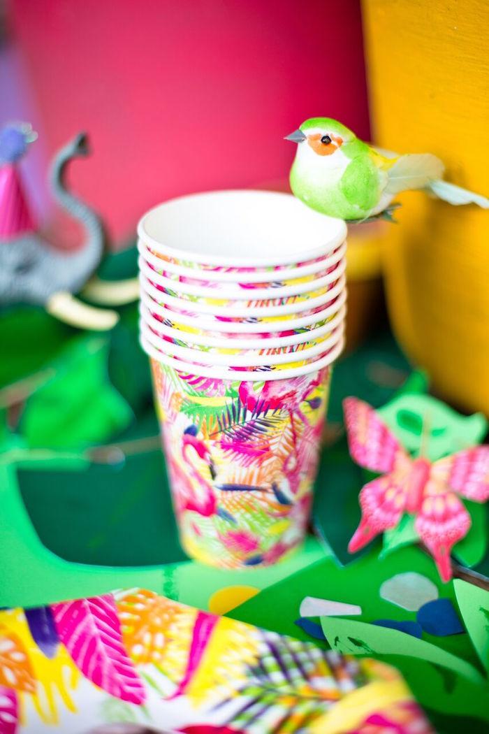 Tropical Rainforest Jungle Animal Birthday Party on Kara's Party Ideas   KarasPartyIdeas.com (13)