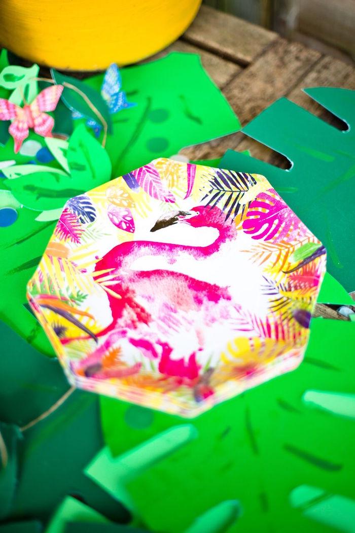 Tropical Rainforest Jungle Animal Birthday Party on Kara's Party Ideas   KarasPartyIdeas.com (12)