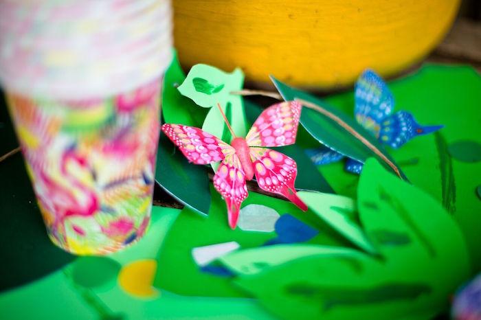 Tropical Rainforest Jungle Animal Birthday Party on Kara's Party Ideas   KarasPartyIdeas.com (8)