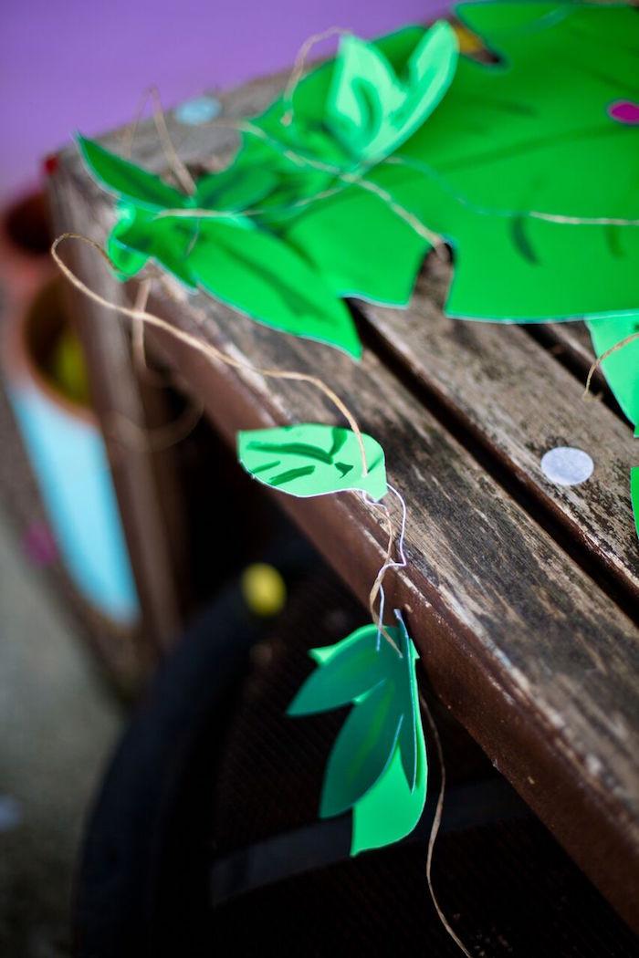 Tropical Rainforest Jungle Animal Birthday Party on Kara's Party Ideas   KarasPartyIdeas.com (7)