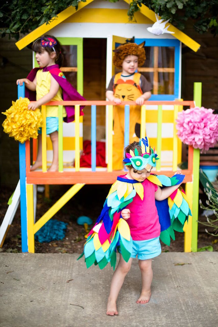 Tropical Rainforest Jungle Animal Birthday Party on Kara's Party Ideas   KarasPartyIdeas.com (4)