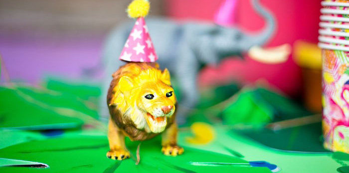 Tropical Rainforest Jungle Animal Birthday Party on Kara's Party Ideas | KarasPartyIdeas.com (1)