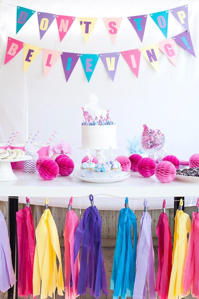 Vibrant Unicorn Party on Kara's Party Ideas | KarasPartyIdeas.com (14)