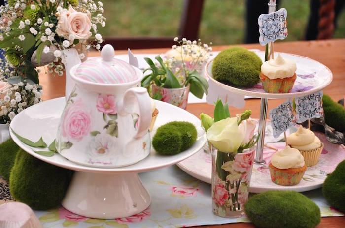Vintage Alice in Wonderland Birthday Party on Kara's Party Ideas | KarasPartyIdeas.com (35)