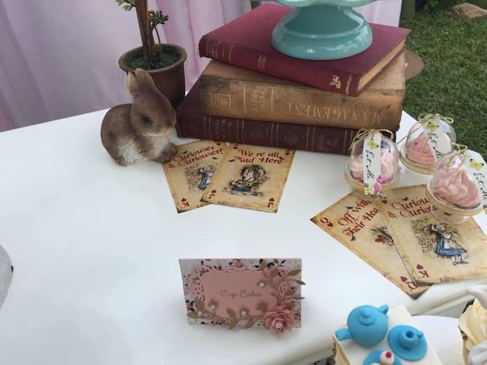 Vintage Alice in Wonderland Birthday Party on Kara's Party Ideas | KarasPartyIdeas.com (34)