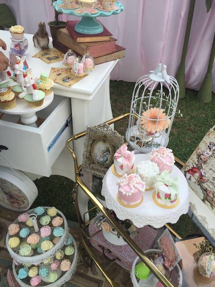 Vintage Alice in Wonderland Birthday Party on Kara's Party Ideas | KarasPartyIdeas.com (44)