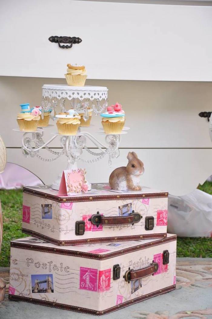 Vintage Alice in Wonderland Birthday Party on Kara's Party Ideas | KarasPartyIdeas.com (24)