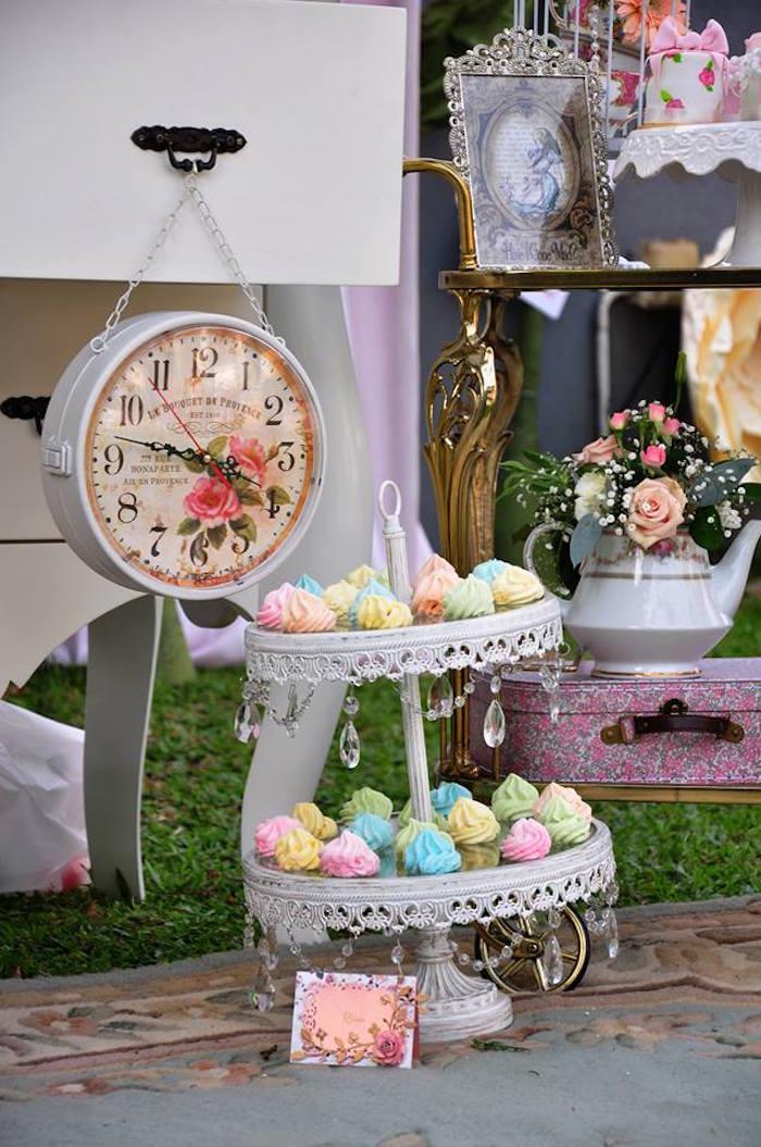 Vintage Alice in Wonderland Birthday Party on Kara's Party Ideas | KarasPartyIdeas.com (16)