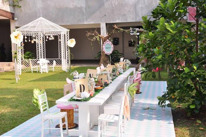 Vintage Alice in Wonderland Birthday Party on Kara's Party Ideas | KarasPartyIdeas.com (42)