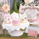 Vintage Alice in Wonderland Birthday Party on Kara's Party Ideas | KarasPartyIdeas.com (2)