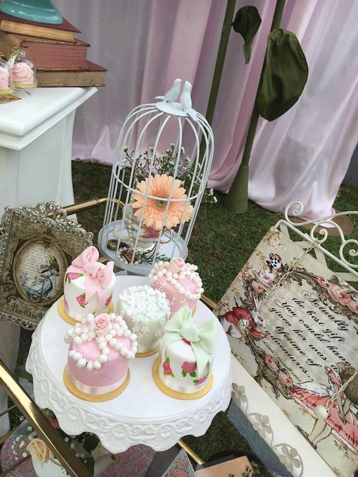 Vintage Alice in Wonderland Birthday Party on Kara's Party Ideas | KarasPartyIdeas.com (39)