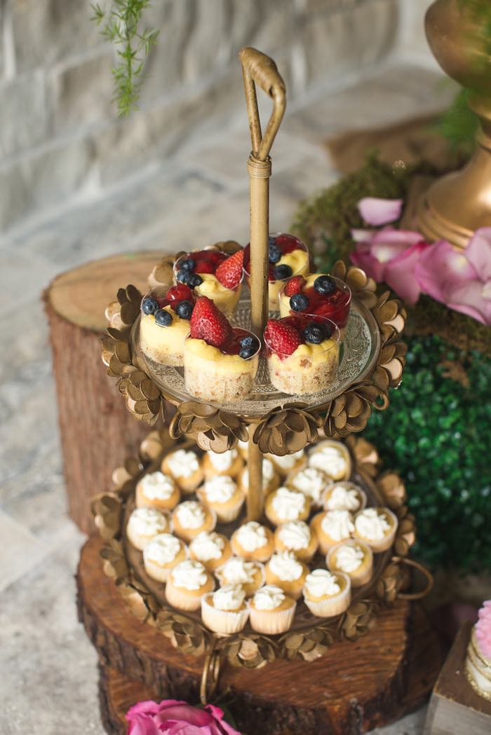 Sweets from a Vintage Enchanted Garden Birthday Party on Kara's Party Ideas | KarasPartyIdeas.com (36)