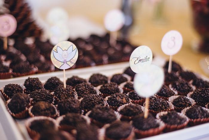 Truffles from a Whimsical Fairies & Butterflies Birthday Party via Kara's Party Ideas KarasPartyIdeas.com (16)