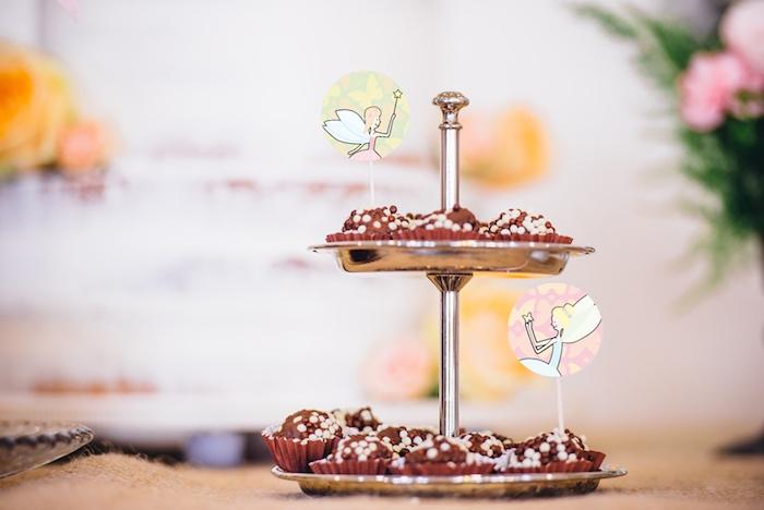 Truffles from a Whimsical Fairies & Butterflies Birthday Party via Kara's Party Ideas KarasPartyIdeas.com (13)