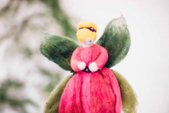 Felt fairy from a Whimsical Fairies & Butterflies Birthday Party via Kara's Party Ideas KarasPartyIdeas.com (8)