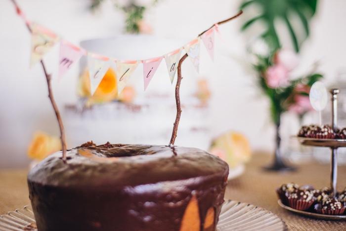 Bundt cake from a Whimsical Fairies & Butterflies Birthday Party via Kara's Party Ideas KarasPartyIdeas.com (32)
