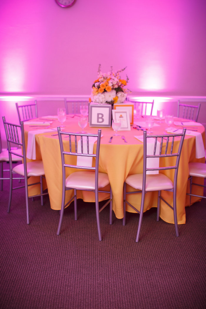 Dining table from a Yellow & Gray Alphabet Baby Shower + Gender Reveal via Kara's Party Ideas | KarasPartyIdeas.com (31)