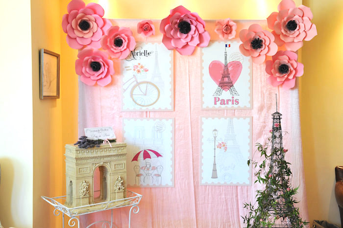 Kara's Party Ideas A Day in Paris Birthday Party | Kara's