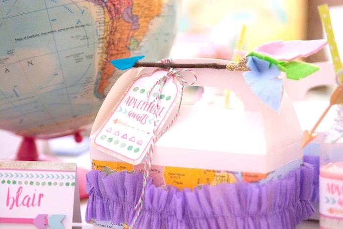 Gable lunch box from an Adventure Awaits Back to School Party on Kara's Party Ideas | KarasPartyIdeas.com (17)