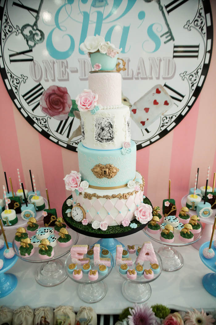 Alice In Wonderland Birthday Cake Recipes
