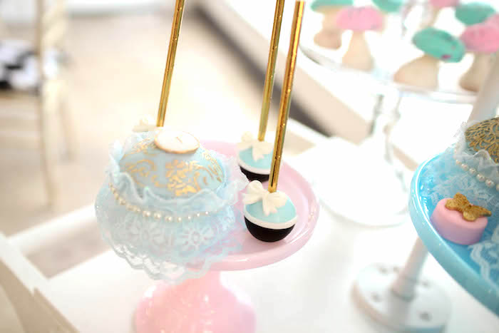 Sweets from an Alice in Wonderland Birthday Party on Kara's Party Ideas | KarasPartyIdeas.com (29)