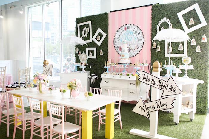 Alice in Wonderland Birthday Party on Kara's Party Ideas | KarasPartyIdeas.com (16)