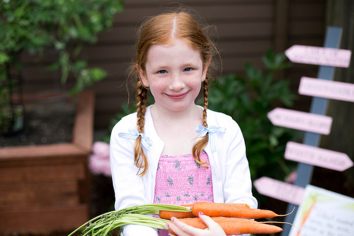 Carrots from an Anne of Green Gables Inspired Tea Party on Kara's Party Ideas | KarasPartyIdeas.com (5)