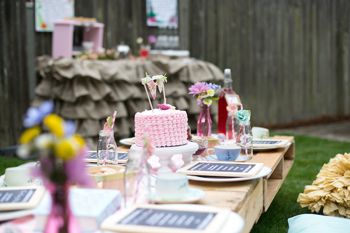 Party table from an Anne of Green Gables Inspired Tea Party on Kara's Party Ideas | KarasPartyIdeas.com (10)