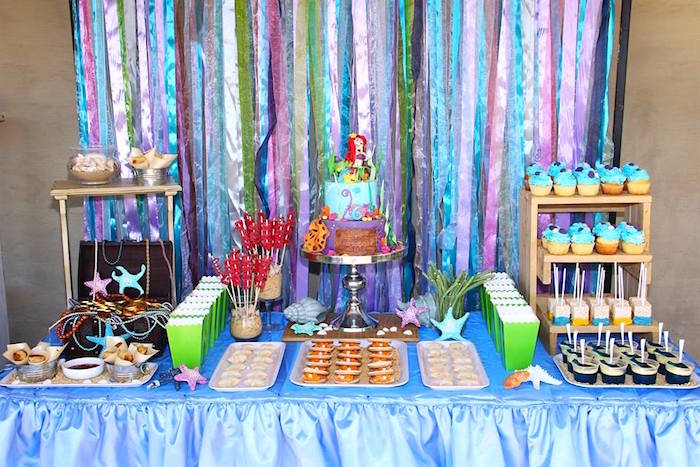 Kara S Party Ideas Ariel The Little Mermaid Birthday