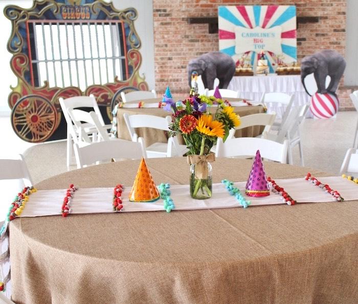 Big Top Circus Birthday Party & Karau0027s Party Ideas Big Top Circus Birthday Party | Karau0027s Party Ideas