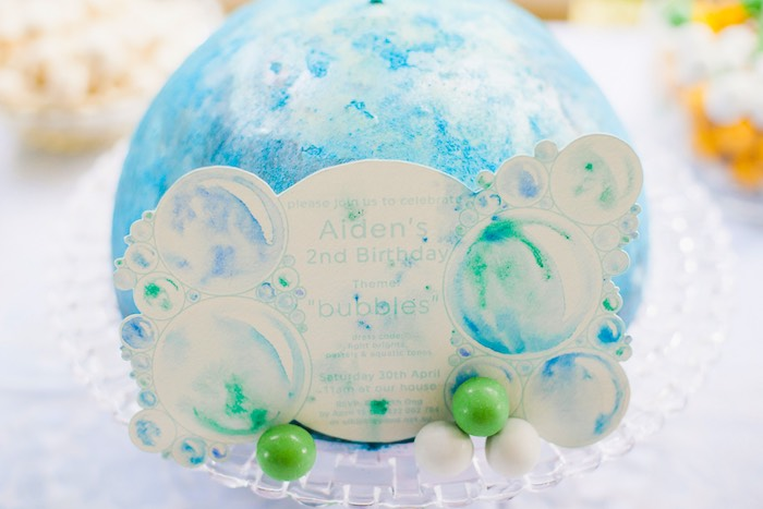 Bubble Birthday Party on Kara's Party Ideas | KarasPartyIdeas.com (18)