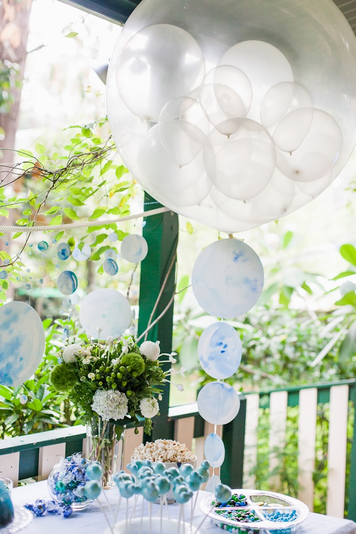 Bubble Birthday Party on Kara's Party Ideas | KarasPartyIdeas.com (17)