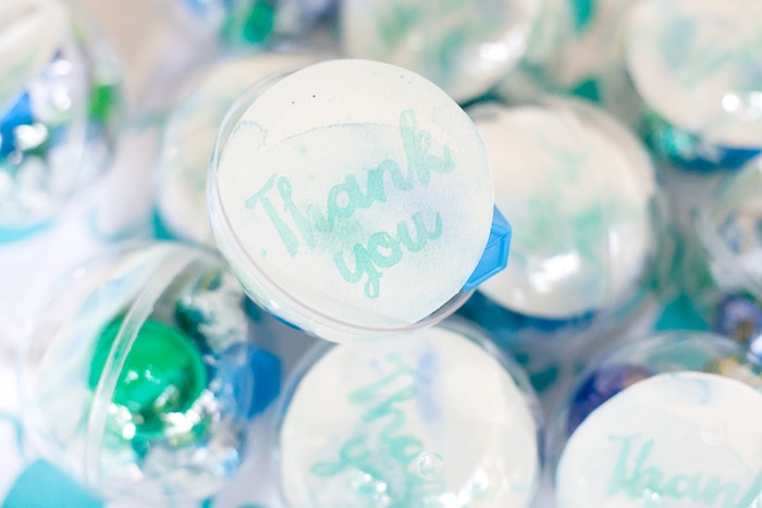 Plastic bubble favors from a Bubble Birthday Party on Kara's Party Ideas | KarasPartyIdeas.com (28)
